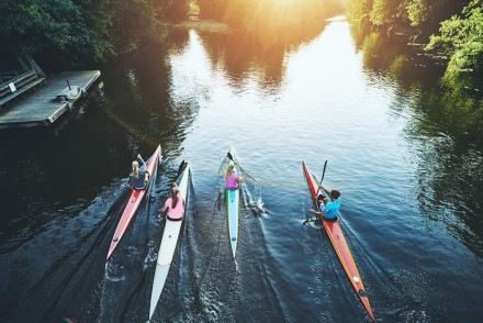 pic- spring time rowers