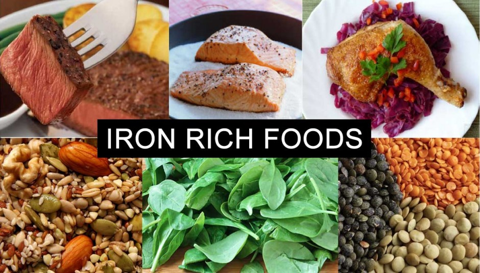 What Foods Do You Eat To Get Iron