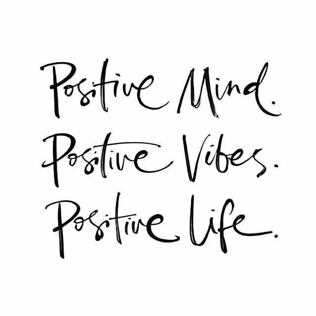 Positivity is Powerful -Simply B