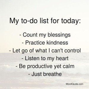 pic- sunday to-do list