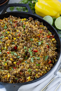 One-Pan-Tex-Mex-Beef-and-Rice